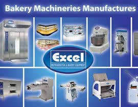 #20 untuk Flyer Design for Bakery Machinery and Refrigeration Equipment oleh Manojm2