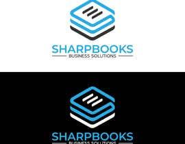 Nro 251 kilpailuun Design Logo and Business Stationery for SharpBooks Business Solutions käyttäjältä TubaDesign