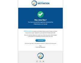 Nro 8 kilpailuun Design and html for email notification käyttäjältä chowdhury30