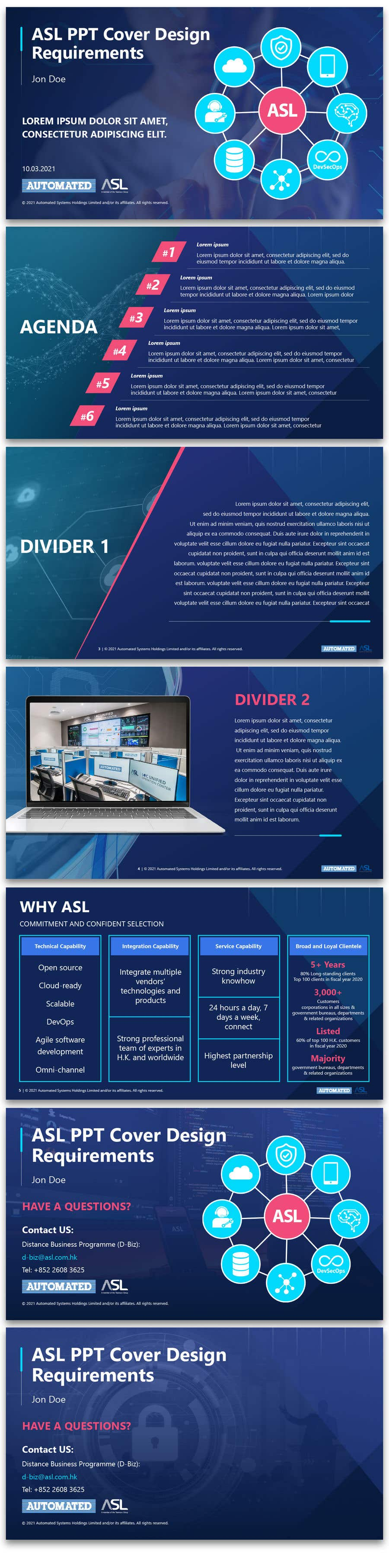 Bài tham dự cuộc thi #                                        32                                      cho                                         Corporate PPT Template Design (6 slides)
