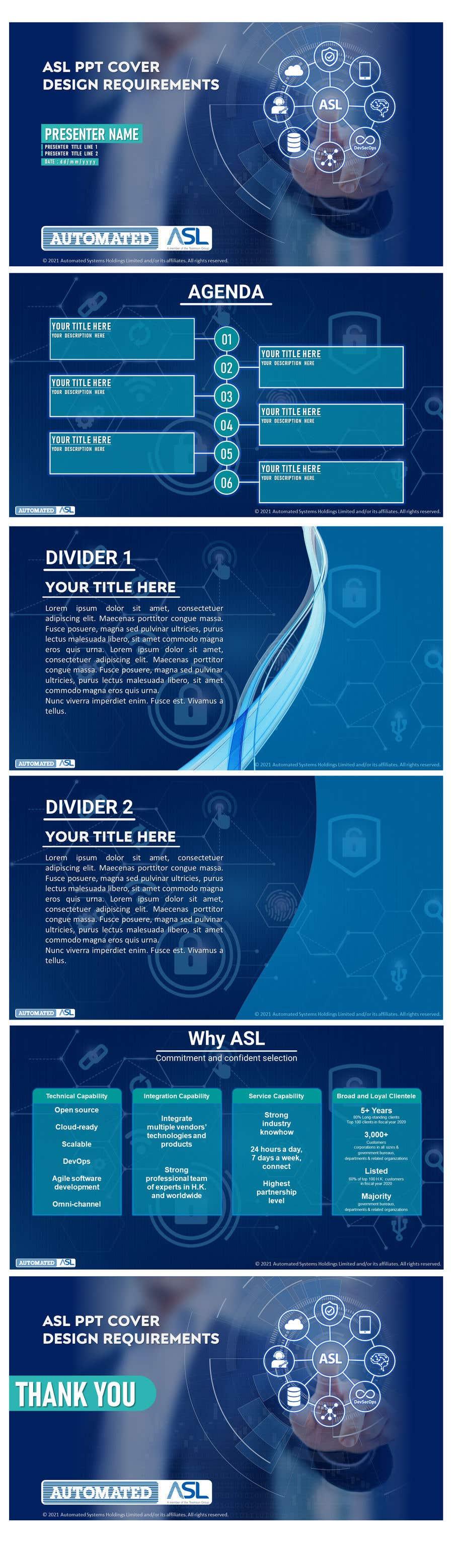 Bài tham dự cuộc thi #                                        42                                      cho                                         Corporate PPT Template Design (6 slides)