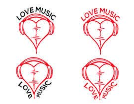#25 untuk LOVE MUSIC oleh mitudesignlab