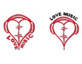 #27 untuk LOVE MUSIC oleh mitudesignlab