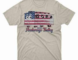 moisanvictores tarafından T-shirt.design.American-Trolley-flag için no 81