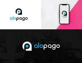 #62 for Minimalist modern logo design for mobile app AloPago by SaYesmin