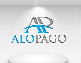 #43 for Minimalist modern logo design for mobile app AloPago by hasanmahmudit420