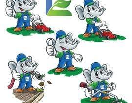 #70 cho Lawn care company cartoon elephant mascot bởi ronieyob