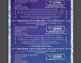 #22 cho Wedding Price List bởi Lamestos