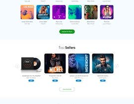 #29 cho Home Page redesign for Music Website bởi saidesigner87