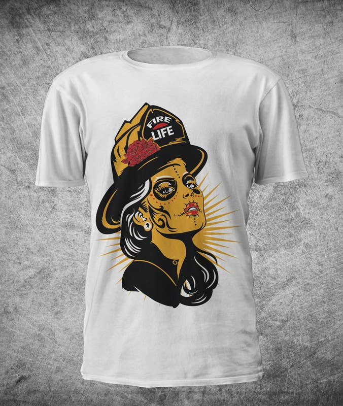 Konkurrenceindlæg #                                        42                                      for                                         Voodo Female Firefighter