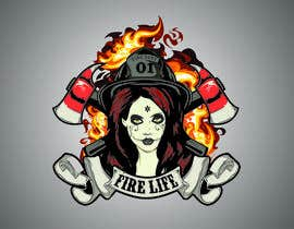 #25 for Voodo Female Firefighter af nitabe