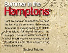 #37 for Advertisement Design for Brownstone Tutors af smarttaste