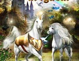 #43 for Illustrate Something for Unicorn Kingdom cover af dienel96
