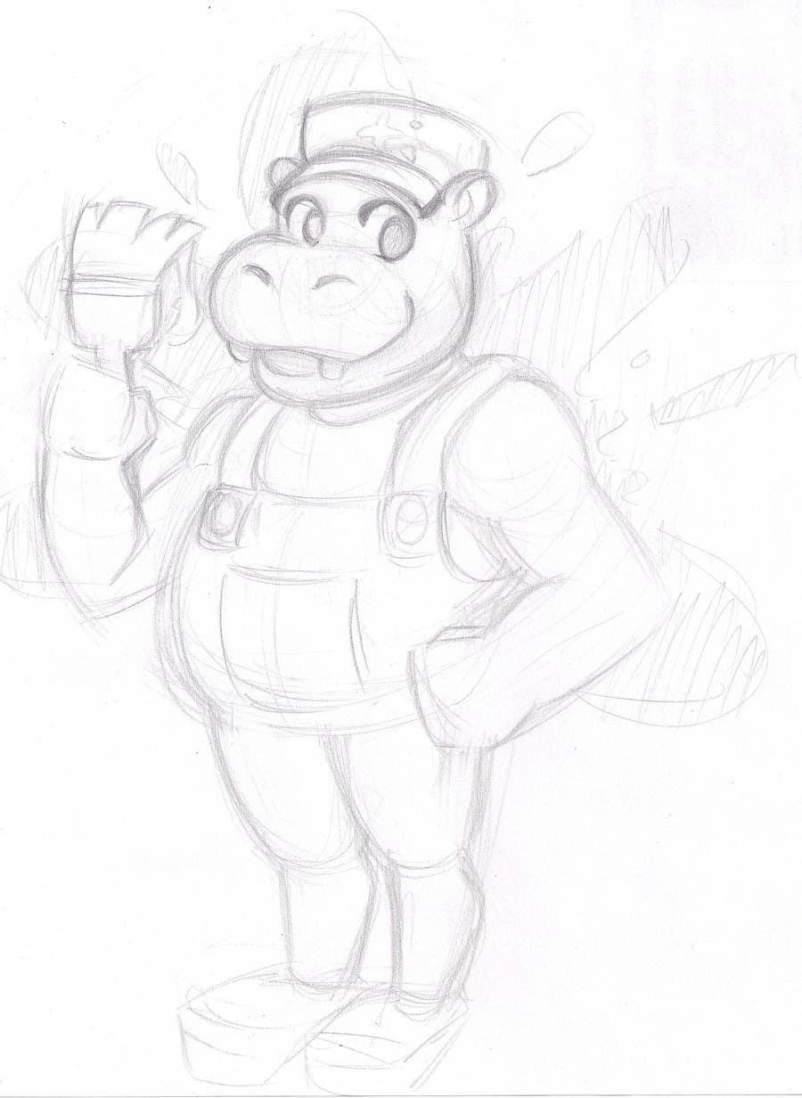 Penyertaan Peraduan #51 untuk Can YOU Fix my Logo? EASY MONEY! ReDesign Logo for Rusty Hippo