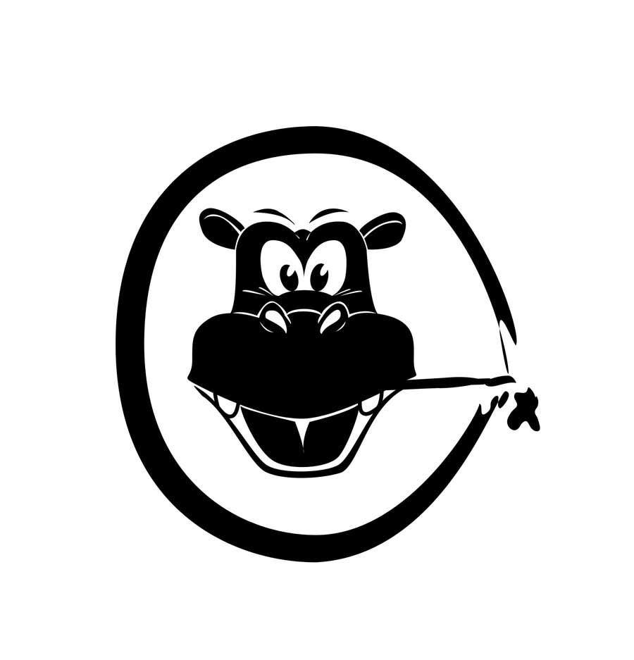 Penyertaan Peraduan #80 untuk Can YOU Fix my Logo? EASY MONEY! ReDesign Logo for Rusty Hippo
