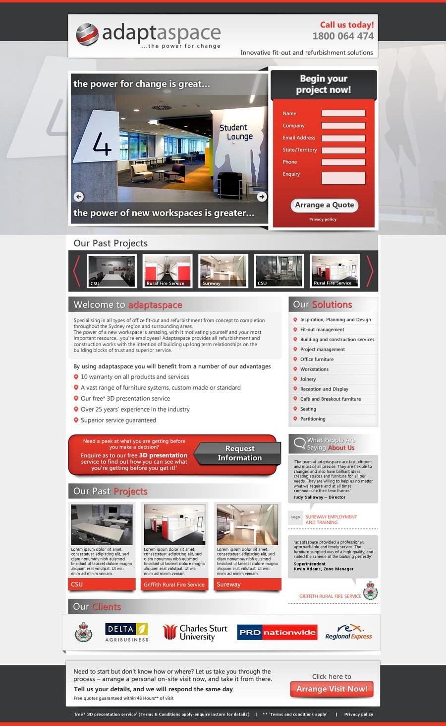 Konkurrenceindlæg #                                        26                                      for                                         Graphic Design for Landing Page