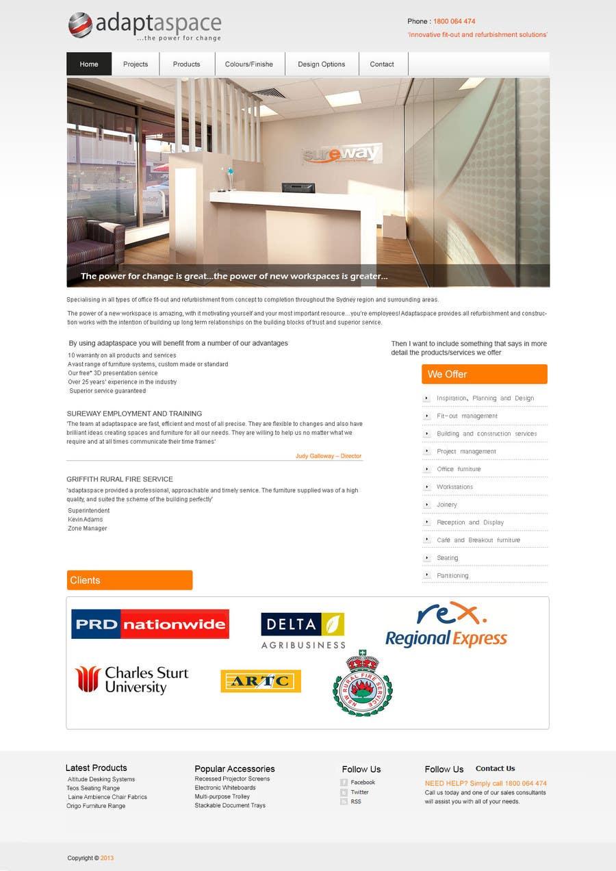 Konkurrenceindlæg #                                        1                                      for                                         Graphic Design for Landing Page