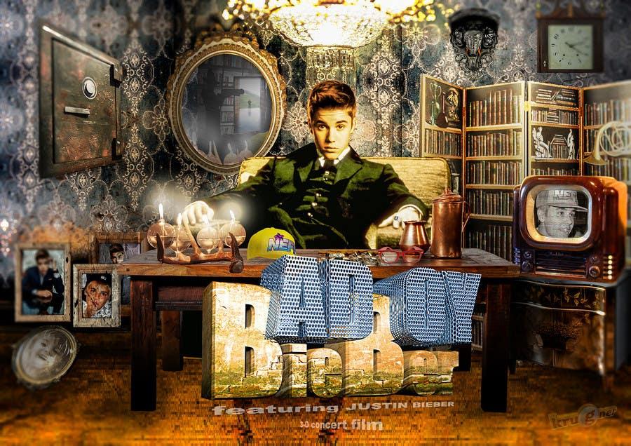 #100 for Design a poster for Gangster @JustinBieber, #BadBoyBieber! by krugner