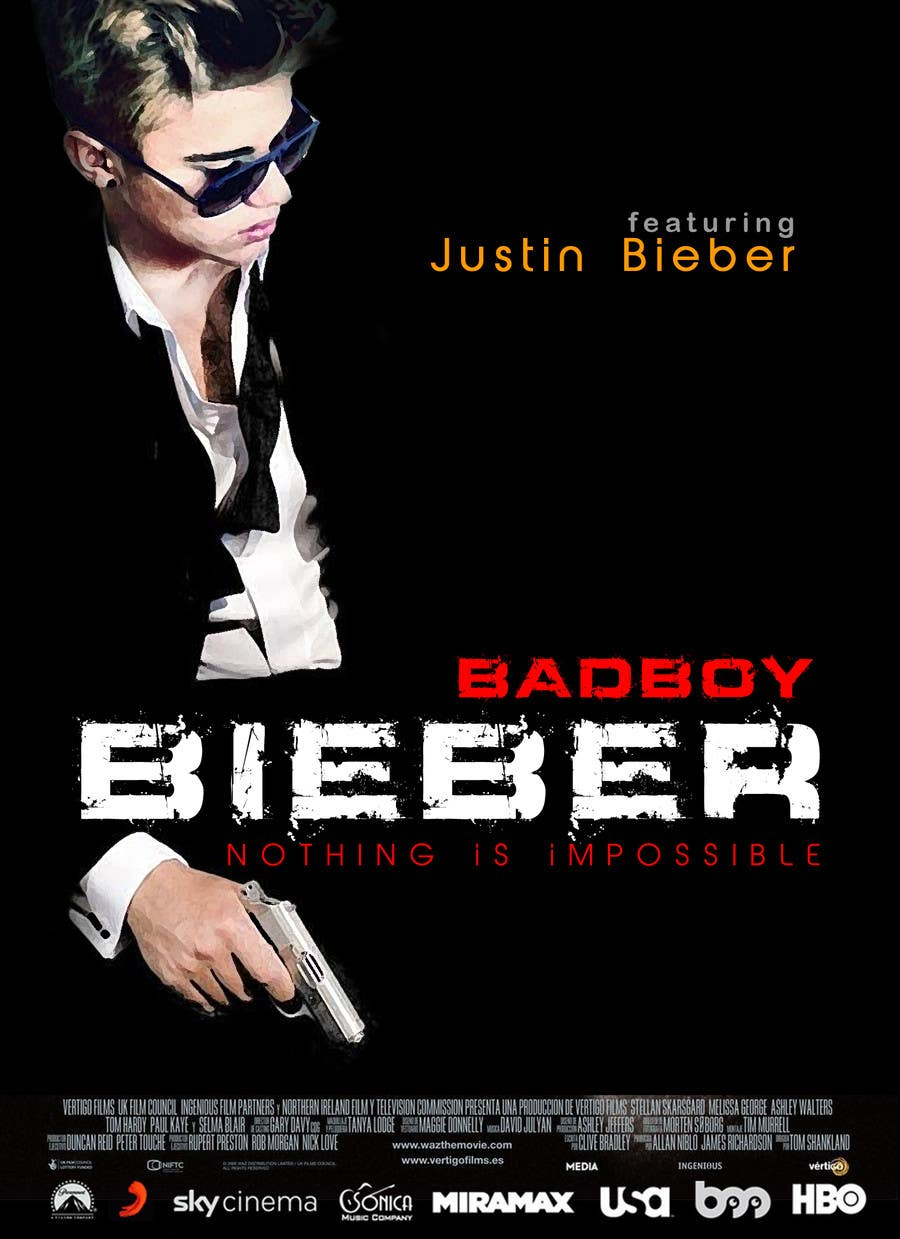 #142 for Design a poster for Gangster @JustinBieber, #BadBoyBieber! by xahe36vw