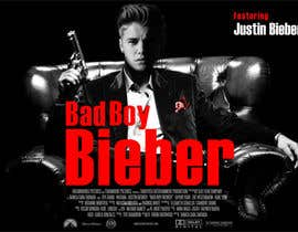 #144 untuk Design a poster for Gangster @JustinBieber, #BadBoyBieber! oleh designart65