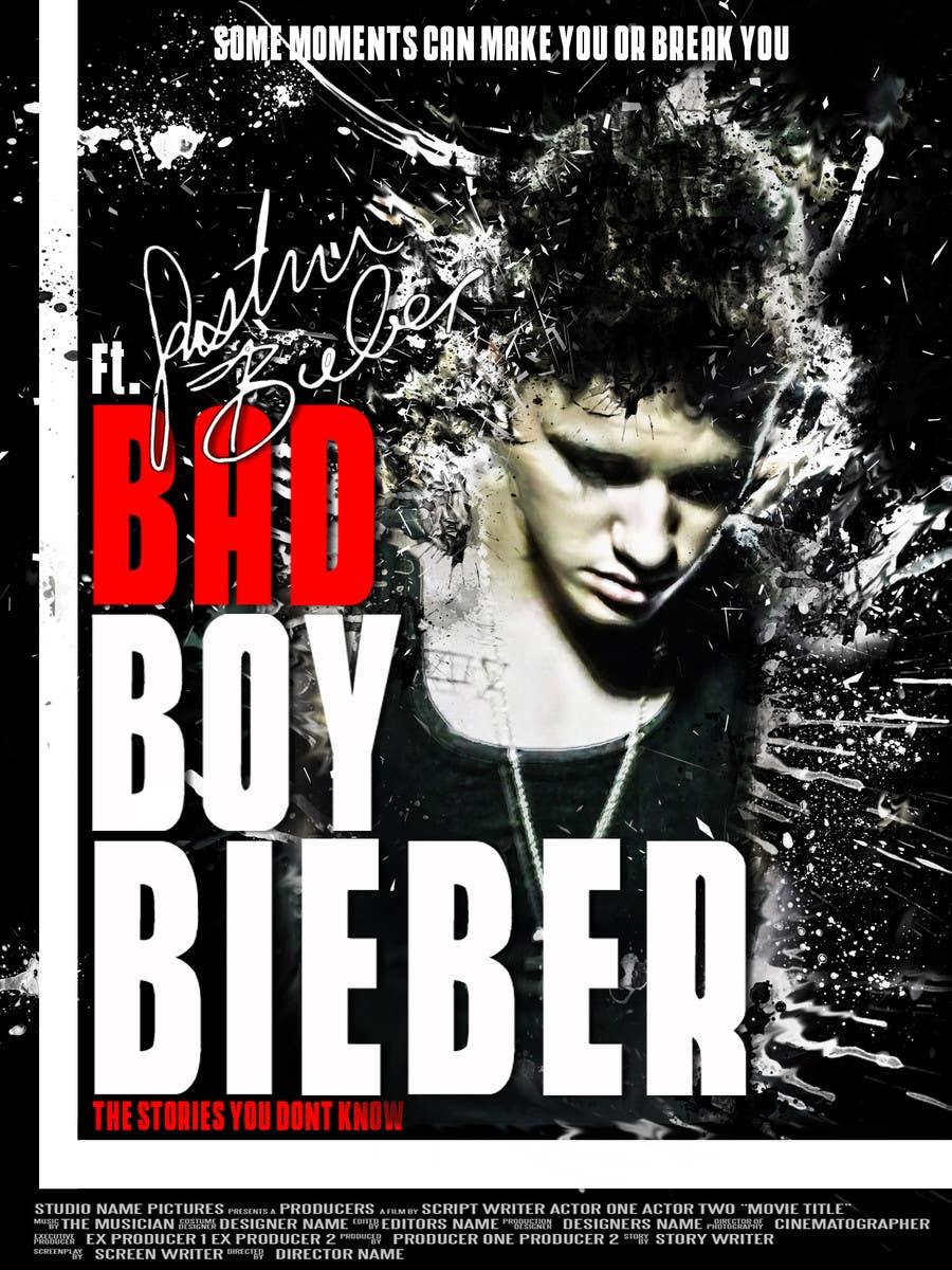 #83 for Design a poster for Gangster @JustinBieber, #BadBoyBieber! by brandonLee24