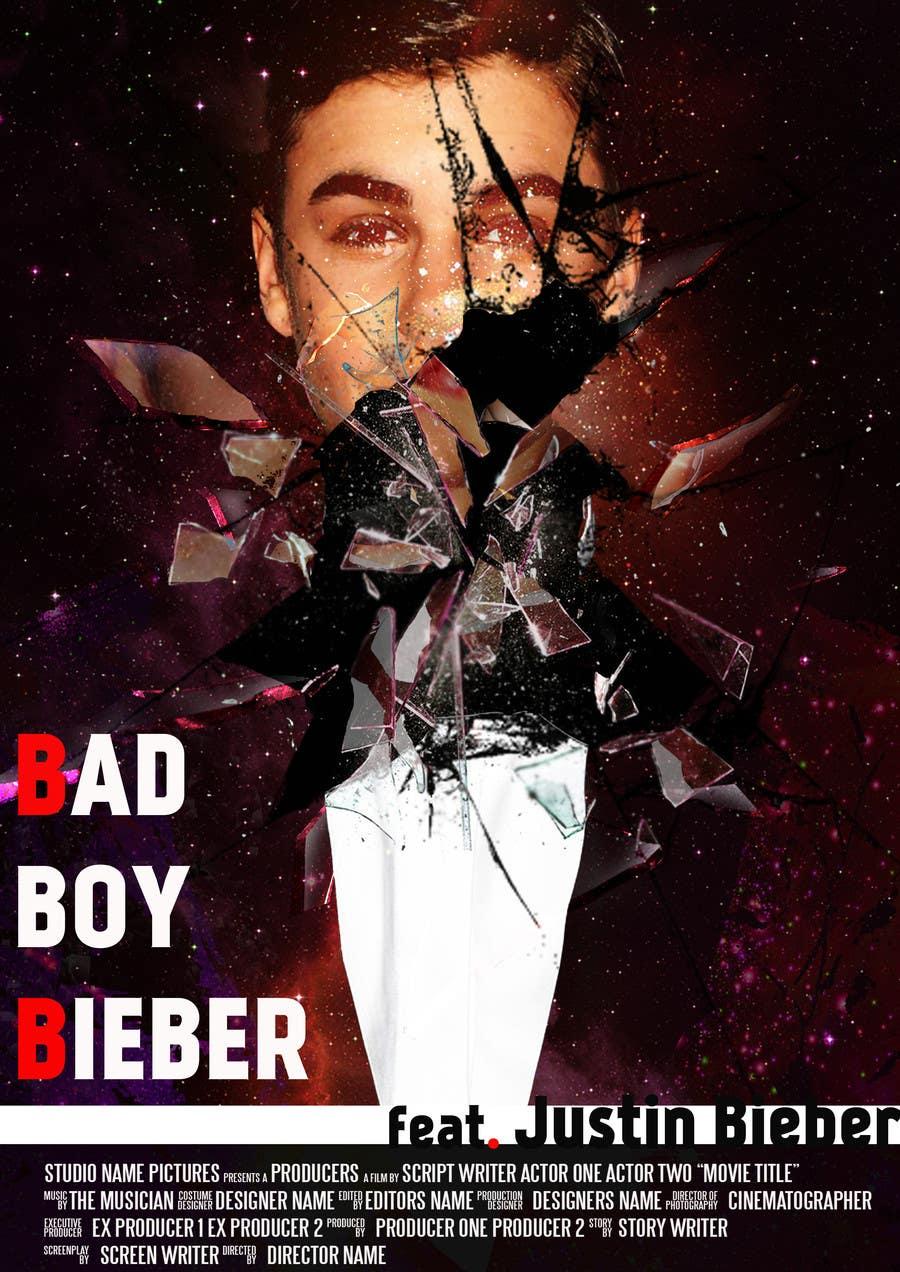 #116 for Design a poster for Gangster @JustinBieber, #BadBoyBieber! by MalyDesign