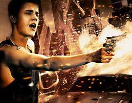 #145 untuk Design a poster for Gangster @JustinBieber, #BadBoyBieber! oleh cornelee