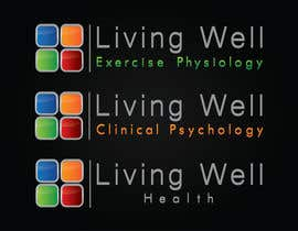 #92 untuk Logo Design for Living Well Exercise Physiology oleh DailynHUng