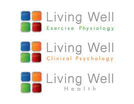 nº 96 pour Logo Design for Living Well Exercise Physiology par DailynHUng