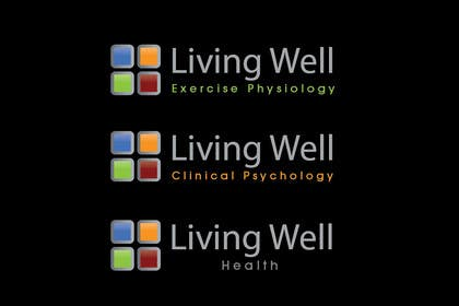 #84 para Logo Design for Living Well Exercise Physiology por iffikhan