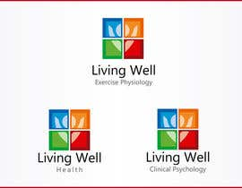 nº 54 pour Logo Design for Living Well Exercise Physiology par macper