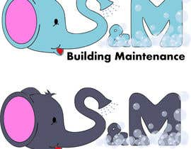 #24 untuk Logo for S&M Building Maintenance business card oleh keryone