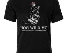 nº 16 pour Motorcycle T-Shirt Design for HOG WILD MC par leonardoluna1