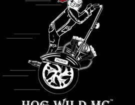 nº 23 pour Motorcycle T-Shirt Design for HOG WILD MC par adamitchell