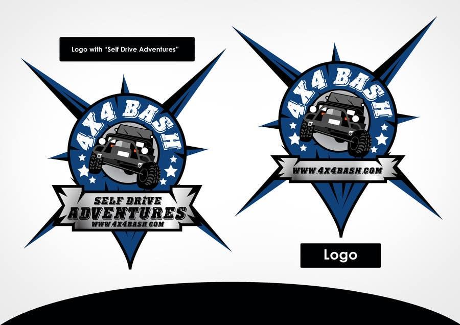 Penyertaan Peraduan #6 untuk URGENT! Graphic Design for 4x4 Bash 2014 logo