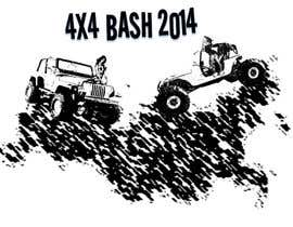 #3 for URGENT! Graphic Design for 4x4 Bash 2014 logo af Eclecticity