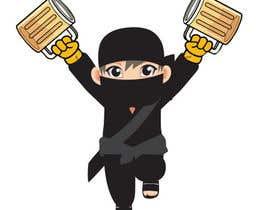 """#1 for Desing Logo for clan """"Drunken Ninja Squad"""" af martinsholat"""
