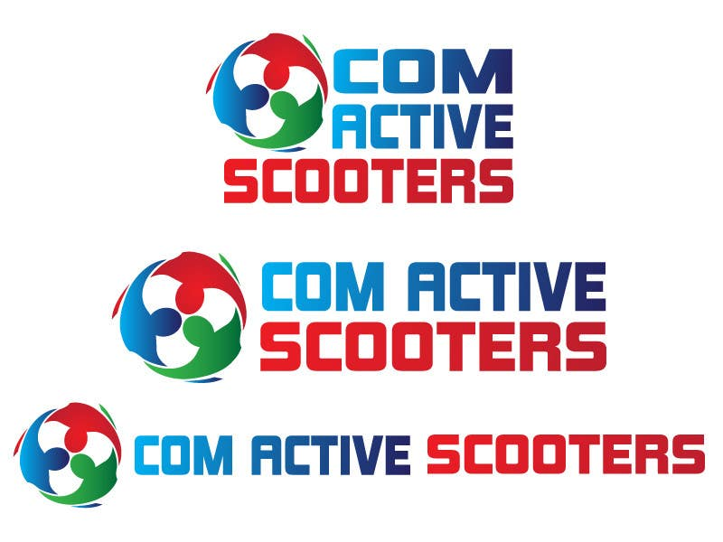 #26 for Logo Design for ComActive Scooters by thephzdesign
