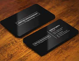 #21 for Business card by aktar201175