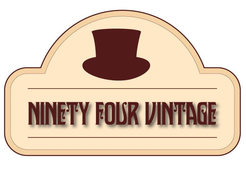 Konkurrenceindlæg #12 for Design a logo for a new online vintage clothing store