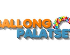 #13 for Design a logo for Ballong palatset (Balloon palace) af megacsaki