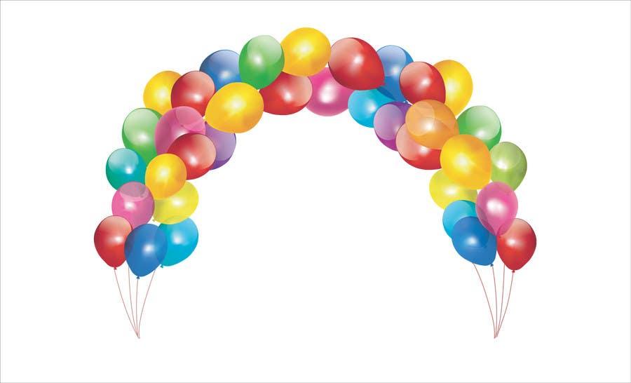 Konkurrenceindlæg #24 for Design a logo for Ballong palatset (Balloon palace)