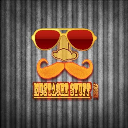 Proposition n°                                        48                                      du concours                                         Logo Design for MustacheStuff.com