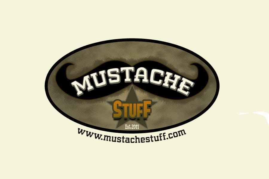 Proposition n°                                        78                                      du concours                                         Logo Design for MustacheStuff.com