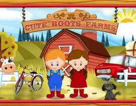 #4 para Illustration Design for Cute Boots Farms de richhwalsh