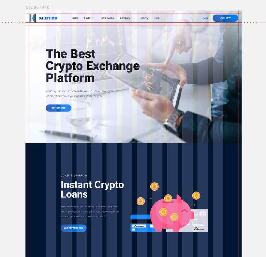 Contest Entry #                                        11                                      for                                         Ui designing for Static pages of a Crypto platform.