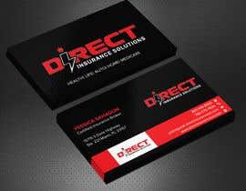 #123 untuk Direct Insurance Solutions - Business Card Design oleh Sadikul2001