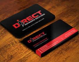 #125 untuk Direct Insurance Solutions - Business Card Design oleh Sadikul2001