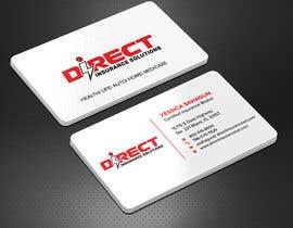 #129 untuk Direct Insurance Solutions - Business Card Design oleh Sadikul2001