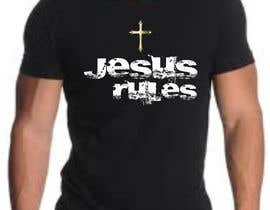 nº 9 pour Design a T-Shirt for Jesus Rules par moilyp